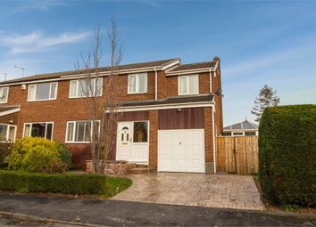Thumbnail 4 bed semi-detached house for sale in Friarside, Witton Gilbert, Durham