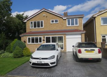 Thumbnail 4 bed detached house for sale in Manor Fields, Dalton Piercy, Hartlepool