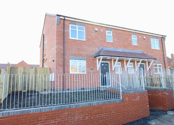 Thumbnail 3 bed semi-detached house for sale in Masefield Avenue, Holmewood, Chesterfield
