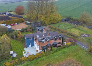 Thumbnail 6 bed equestrian property for sale in Rural Village Hastingleigh, Nr Ashford, Kent