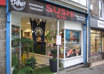 Thumbnail Restaurant/cafe for sale in 10 Tregenna Place, St Ives, Cornwall