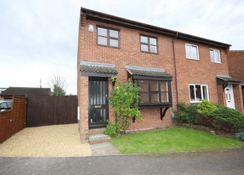 Thumbnail 3 bed semi-detached house for sale in Walcourt Road, Kempston, Bedford
