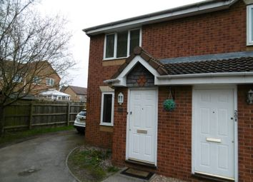 Thumbnail 2 bed semi-detached house to rent in Shipley Close, Branston, Burton On Trent