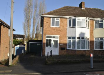 Thumbnail 3 bed semi-detached house for sale in Rosemead Drive, Oadby