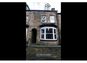 Thumbnail 5 bed terraced house to rent in Western Road, Sheffield