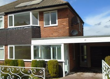 Thumbnail 3 bed semi-detached house to rent in Highfields Road, Hilltop, Sheffield