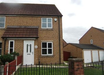 Thumbnail 2 bed semi-detached house to rent in Priory Lane, Scunthorpe