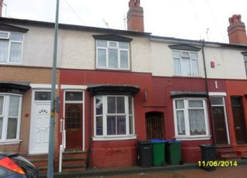 Thumbnail 2 bed property to rent in Capethorne Road, Smethwick, Birmingham