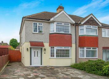 Thumbnail 3 bed semi-detached house for sale in Clarendon Gardens, Dartford, Kent