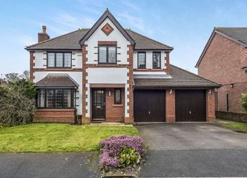 Thumbnail 4 bed detached house for sale in Knutsford Close, Eccleston, St. Helens