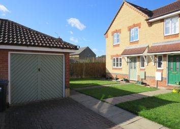 Thumbnail Semi-detached house for sale in Clover End, Witchford, Ely
