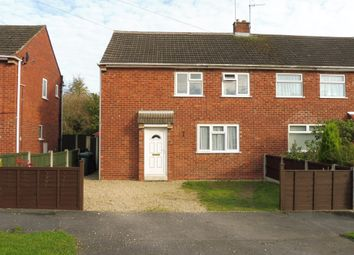 Thumbnail 3 bed semi-detached house for sale in New Road, Hilton, Derby