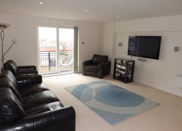 Thumbnail 2 bedroom flat to rent in The Canalside, Gunwharf Quays, Portsmouth