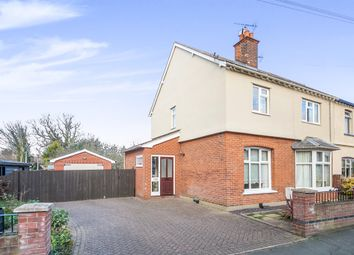 Thumbnail 3 bed semi-detached house for sale in Fronks Road, Dovercourt, Harwich