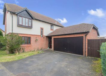 Thumbnail 4 bed detached house for sale in Swallow Close, Totton, Southampton