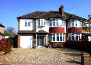 Thumbnail 5 bed semi-detached house for sale in The Manor Drive, Worcester Park
