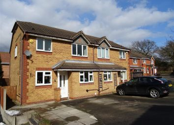Thumbnail 3 bed semi-detached house for sale in Oak Close, Coalville, Leicestershire