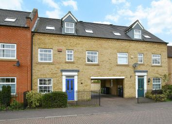 Thumbnail 4 bedroom terraced house for sale in Stocker Way, Eynesbury, St. Neots