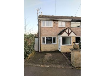 Thumbnail 3 bedroom end terrace house for sale in Sunningdale Close, Hyde