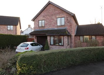 Thumbnail 4 bed detached house for sale in Castle Wood, Usk
