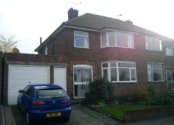 Thumbnail 3 bed semi-detached house to rent in Crowhurst Drive, Braunstone, Leicester