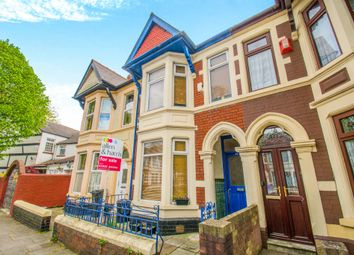 Thumbnail 3 bedroom terraced house for sale in Courtenay Road, Splott, Cardiff
