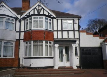 Thumbnail 3 bedroom semi-detached house to rent in Barton Lodge Road, Hall Green