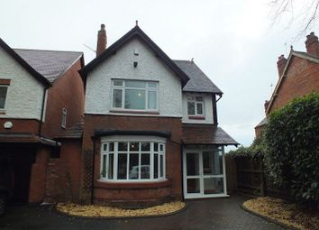 Thumbnail 4 bedroom detached house to rent in Solihull Road, Shirley, Solihull