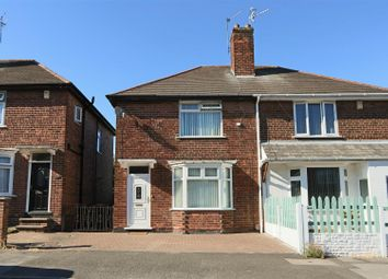 Thumbnail 2 bed semi-detached house for sale in Parkyn Road, Daybrook, Nottingham