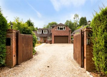Thumbnail 4 bed detached house for sale in New Road Hill, Midgham, Reading, Berkshire
