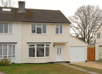 Thumbnail 3 bed semi-detached house to rent in Fair Oak Way, Baughurst, Tadley