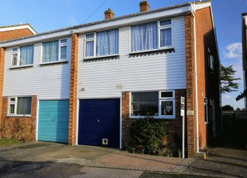 Thumbnail 3 bed semi-detached house for sale in Oak End Close, Southborough, Tunbridge Wells