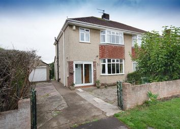 Thumbnail 3 bed semi-detached house for sale in Queensholm Drive, Downend, Bristol