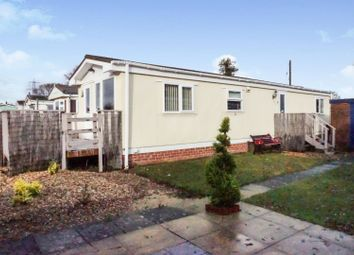 Thumbnail 2 bed mobile/park home for sale in Little Holbury Caravans, Southampton