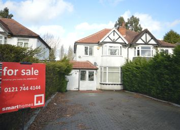 3 bed semi-detached house for sale in Streetsbrook Road, Shirley, Solihull B90