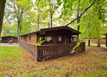 Thumbnail 3 bed mobile/park home for sale in Kenwick Woods, Louth, Lincolnshire