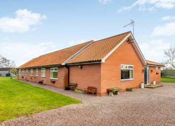 Thumbnail 5 bed detached bungalow for sale in New Lane, Newark, Nottinghamshire