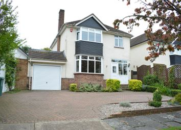 Thumbnail 4 bed detached house for sale in North View Crescent, Epsom