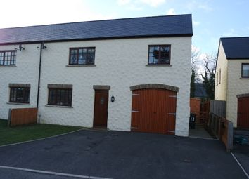 Thumbnail 3 bed semi-detached house to rent in Glanafon Gardens, Haverfordwest