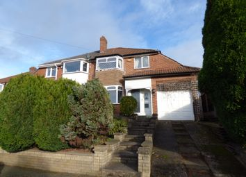 Thumbnail 3 bed semi-detached house for sale in Lilac Avenue, Birmingham