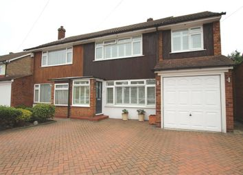Thumbnail 4 bed semi-detached house for sale in Wolsey Road, Sunbury-On-Thames, Middlesex