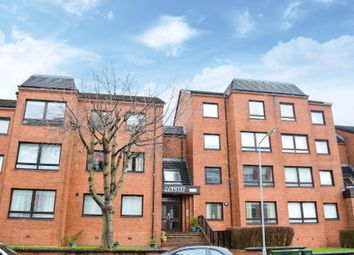 Thumbnail 1 bedroom flat for sale in Ascot Court, Anniesland, Glasgow