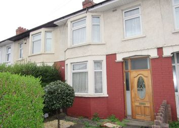 Thumbnail 3 bedroom terraced house for sale in Cowbridge Road West, Ely, Cardiff