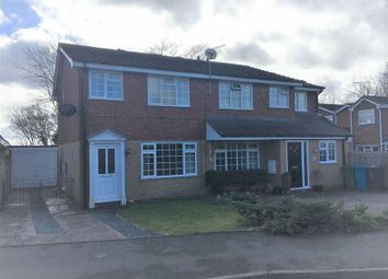 Thumbnail 2 bed semi-detached house to rent in The Celandines, Wombourne, Wolverhampton