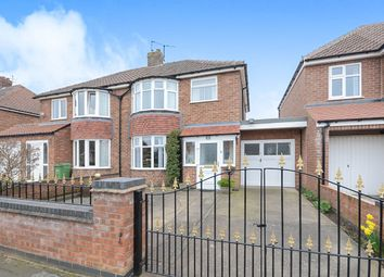 Thumbnail 3 bed semi-detached house for sale in Almsford Drive, York