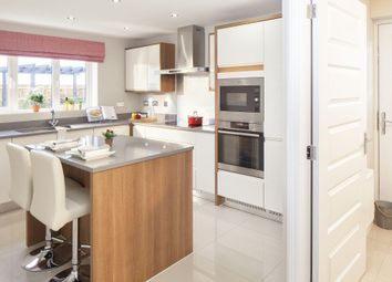 "Thumbnail 4 bed detached house for sale in ""Oakhampton"" at Tregwilym Road, Rogerstone, Newport"