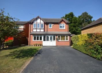 Thumbnail 4 bed detached house for sale in Jackson Close, Oadby, Leicester