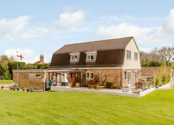 Thumbnail 5 bed detached house for sale in Newton Way, Woolsthorpe By Colsterworth, Lincolnshire