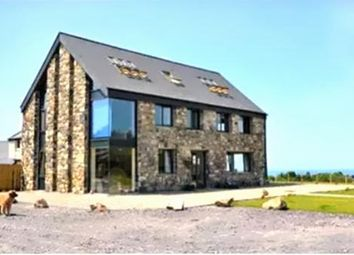 Thumbnail 5 bed detached house for sale in Snowdon Summit View Nebo, Caernarfon