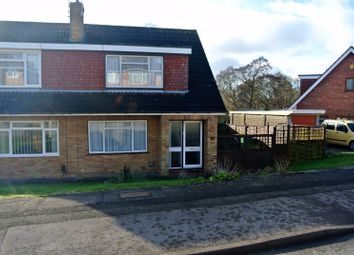 Thumbnail 3 bed semi-detached house for sale in Bodiam Avenue, Tuffley, Gloucester